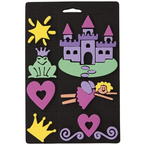 craft-planet-7-piece-foam-stamp-set-princess-multi-colour