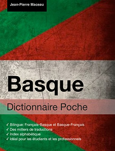 Dictionnaire Poche Basque