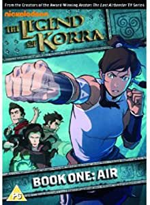 The Legend of Korra - Book One: Air [DVD]