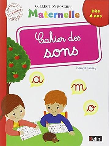 Ecrire Une Nouvelle - Cahier des Sons (Nouvelle