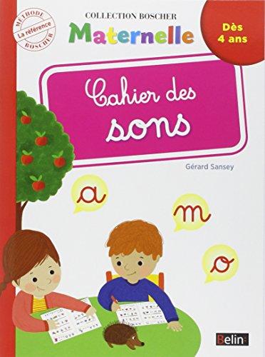 Cahier des Sons (Nouvelle Édition) par Sansey Gérard