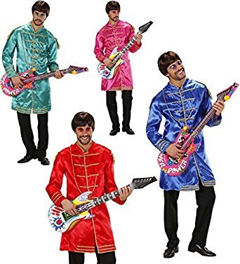 Sgt Pepper's Kostüm (LIBROLANDIA 7615B MUSICISTA)