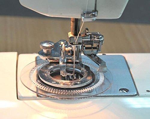 AKORD Universal Dekorative Daisy Flower Stitch Nähmaschine Nähfuß, Stahl, Silber, 12,7x 11,9x 5cm - Necchi Nähmaschine Anleitung