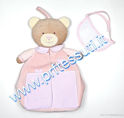 Preisvergleich Produktbild Bär-Windeln Lätzchen pink mit Beleuchtung in Aida