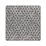 BliGli Rutschfeste quadratische Duschmatte für Badezimmer Wasser Cube...