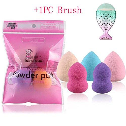 Schwamm Make-up, scofieldly 20185x Pro Beauty Flawless Make-up Foundation Puff Multi Form Schwämme Mixer (Einer Schönheit Blender)