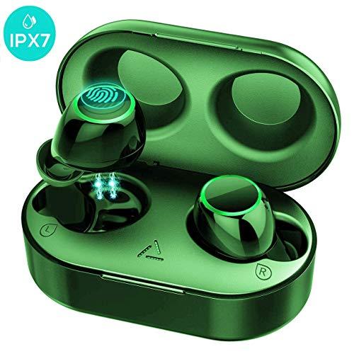 Mpow Auriculares Bluetooth 5.0 con Dos Micrófonos