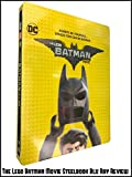 Review: The Lego Batman Movie Steelbook Blu Ray Review [OV]
