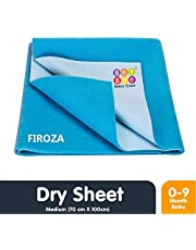 Bey Bee Waterproof Bed Protector Baby Dry Sheet Medium Fi