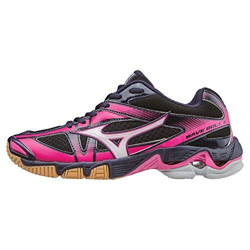 Mizuno Wave Bolt Wos, Chaussures de Volleyball Femme Black