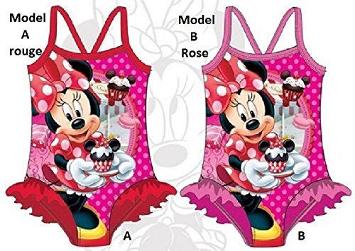 Minnie Mouse Swimsuit Disney * BRAND NEW * Unity. Size 3 to 8 Years/Random Model/Unit * *