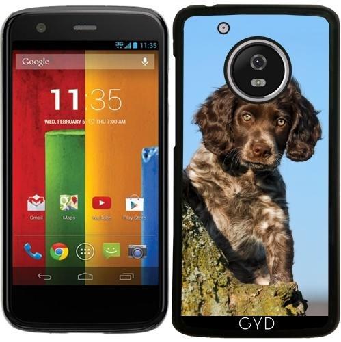Hülle für Lenovo (Motorola) Moto G5 - Niedlich Deutsch Spaniel Hundewelpe by Katho Menden