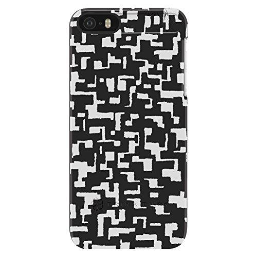 trina-turk-stylish-snap-case-for-iphone-5-5s-black-white-geo