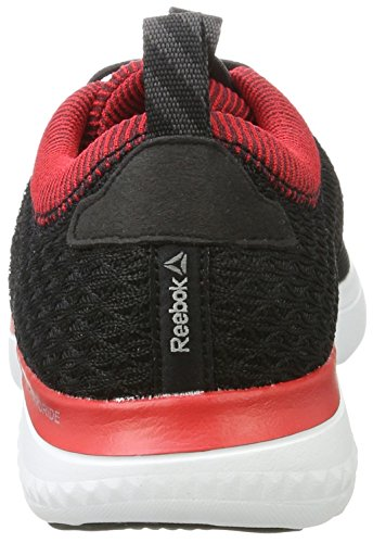 Reebok Astroride Run Fire, Scarpe da Corsa Uomo Nero (Black/coal/primal Red/white/steel/pewter)