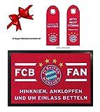 Geschenk-Set FC Bayern München Fußmatte