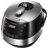 Aigostar Happy Chef 30IWY – Robot de cocina multifunción, cocina a presión: 7 aparatos
