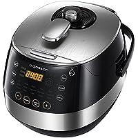 Aigostar Happy Chef 30IWY – Robot de cocina multifunción, cocina a presión: 7 aparatos en uno, 15 funciones y gran panel led, 900 W, capacidad 5 l y ...