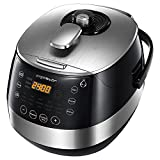 Aigostar Happy Chef 30IWY - Multicuiseur 7 en 1, 900W, 15 fonctions programmables...