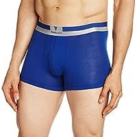 Van Heusen Men's Pima Cotton Stretch Trunks (8907522405721_20042_Medium_20042_Sodalite Blue_Medium)