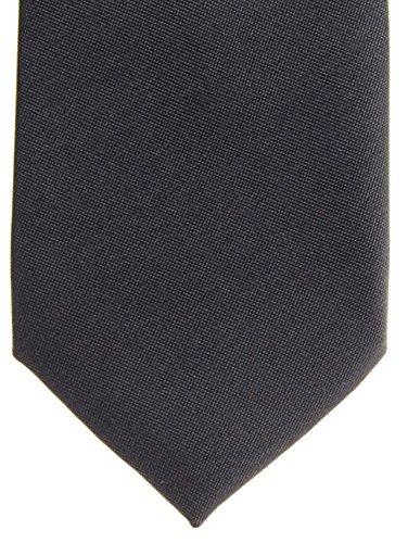Retreez massif Mat Couleur Tissé en microfibre pre-tied de Garçon de–Différentes couleurs Noir - Charcoal Black