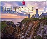 BRETAGNE - Land am Meer: Original Stürtz-Kalender 2018 - Großformat-Kalender 60 x 48 cm