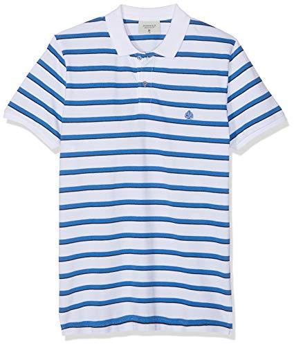 Springfield 10BA Basic Stripes Jersey, Blanco (Blanco 99), Medium (Tamaño del Fabricante:M) para Hombre