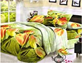Desirica Signature Green Floral Double 3...