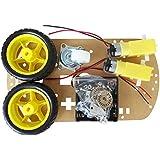 SODIAL(R) Kit Chasis WST inteligente de motores Robot Car velocidad Encoder Caja de bateria