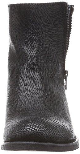 BUNKER Booty, Stivali classici imbottiti a gamba corta donna Nero (Schwarz (GEKO BLACK))