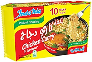 Indomie Chicken Curry, 10 X 75 gm
