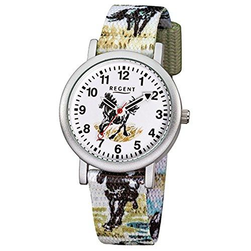 Regent Reloj de pulsera infantil caballo