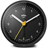 Braun BNC-012-BKBK - Reloj despertador clásico analógico, color negro