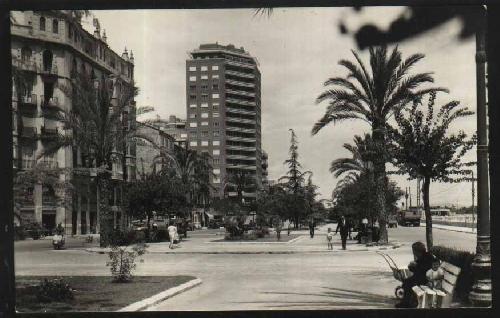 Antigua Postal - Old Postcard : 117 Valencia - Avda. de Jacinto Benavente