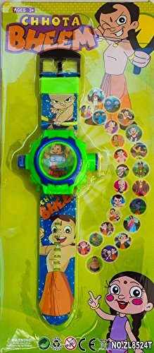 Arvel™ 24 unique Images Projector Digital Toy Watch for Kids - Best Return Gift for Kids (Chota Bheem)  available at amazon for Rs.221