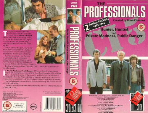 the-professionals-hunter-hunted-1978-private-madness-public-danger-1977-vhs