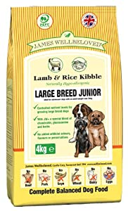 James Wellbeloved Junior Large Breed Lamb and Rice Dry Mix 15 kg from James Wellbeloved