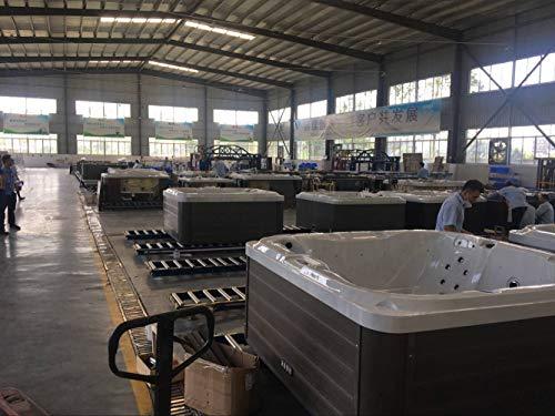 Haisland 2,1 Meter Spezielles Design Balboa System Outdoor Whirlpool Double People Massage Badewanne Whirlpool SPA M-3502
