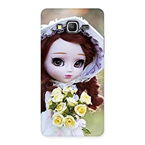 Neo World Flowers with Cute Doll Back Case Cover for Galaxy Grand Prime