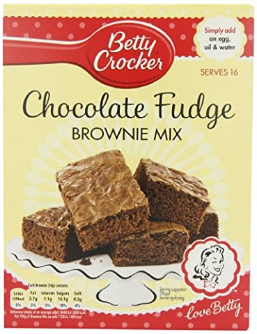 Betty Crocker Chocolate Fudge Brownie Mix 415 G (pack Of