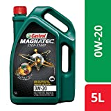 Castrol MAGNATEC STOP-START 0W-20 Full Synthetic Engine Oil for Petrol Cars (5L)