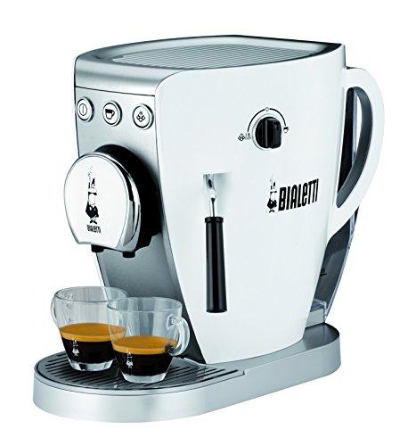Bialetti TAZZISSIMA WHITE Libera installazione Macchina da caffè combi 0,8 L Automatica