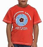 Trmpi Orange Football T-Shirt for Boys (...