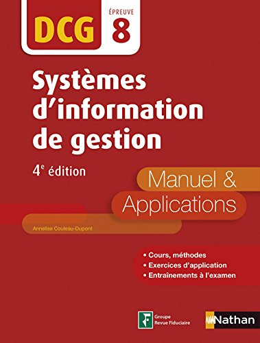 DCG 8 : Systmes d'information de gestion 2016/2017