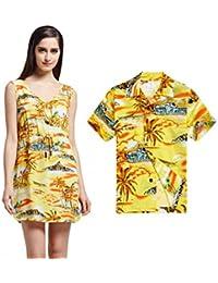3889be5f3 Hawaii Hangover Resbalón Hawaiano de Luau del Hijo de la Madre a Juego en  la Camisa del Muchacho del Vestido de…