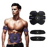 TZLong Entrenador de músculos abdominales, ABS entrenamiento, cinturón tonificante inalámbrico, ejercicios musculares para abdomen/brazo/pierna entrenamiento