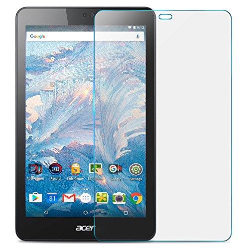 ELTD Acer Iconia One 7 B1-790 Schutzfolie, abgerundeten Ecken 2.5D, 9H Härte, Klar Anti-Kratz Glas Folie Panzerfolie Displayschutzfolie Displayschutz Folie für Acer Iconia One 7 B1-790 [2 Stück] (Acer 7 Displayschutzfolie Tablet)