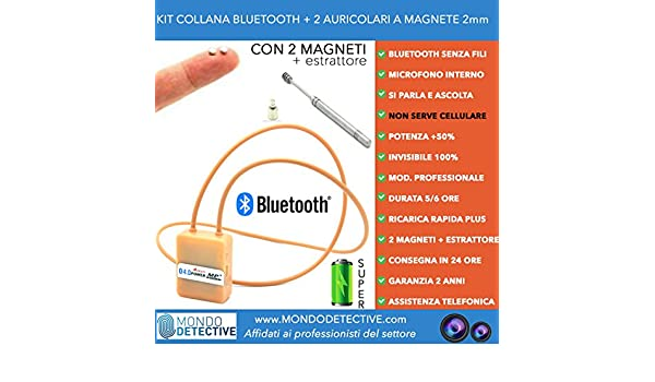 Micro Bluetooth Headset Halskette Induktives Amazon De Elektronik