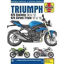 Triumph 675 Daytona & Street Triple Service and Repair Manua