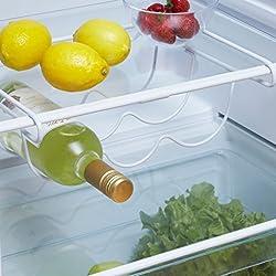 Neotechs® supporto universale piccolo freezer salvaspazio sotto mensola portabottiglie