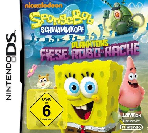 Spongebob Schwammkopf: Planktons Fiese Robo-Rache (Nintendo Ds Nickelodeon Games)